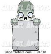 Vector Zombie Clipart by Cory Thoman