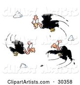 Vultures Clipart by Spanky Art