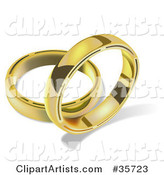 Wedding Ring Clipart by Dero