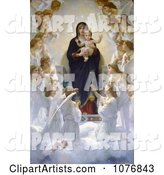 William Adolphe Bouguereau Clipart by JVPD